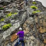 escalade loire pilat roche corbiere