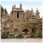 palais, facteur, cheval, chateau, drome, visite, famille, activité, camping