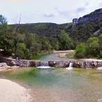 baignade, vallée de l'ibie, ardèche, camping, loisirs, activités, location, tranquilité, ombre, nature