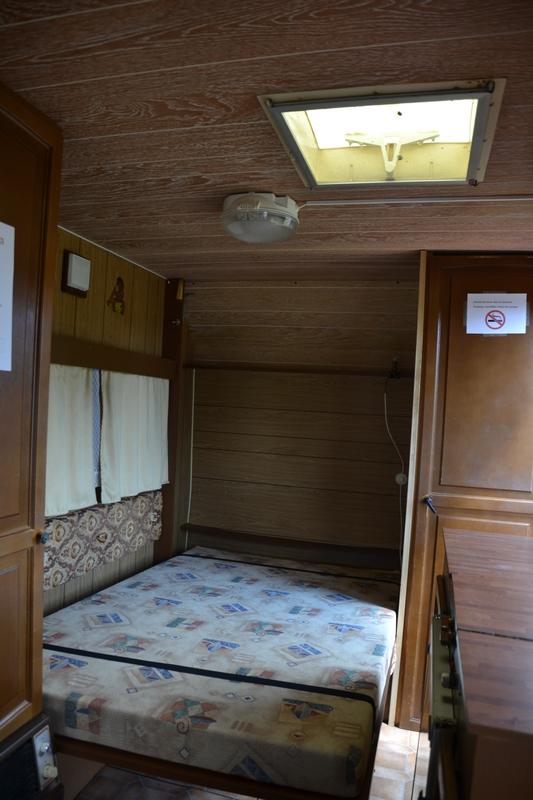 grand lit caravane vintage 6