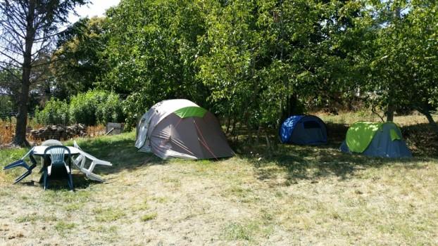3 tentes de location