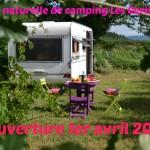 ouverture camping, ouverture 1er avril 2018, hébregement, balades dans le pilat, visites, dégustation, location, tente suspendue, Pilat, ardeche, loire, rhone, lyon, vienne, condrieu, chanas
