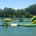 Slides Parc drôme, camping, drôme, location, caravane, gîte, chambre d'hôte, balade, activité, loisirs, randonnées, baignade, rivière, parc de loisirs, toboggan