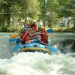 kayak, rafting, canyoning, canoe, sport, eaux vives, riviere, descente, camping, groupe, hydrospeed, aire naturelle de camping les cerisiers, loire, maclas, découverte, baignade, loisirs, tente, caravane